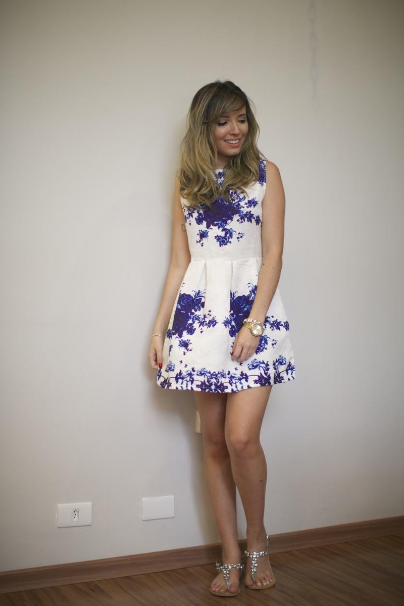 vestido estruturado
