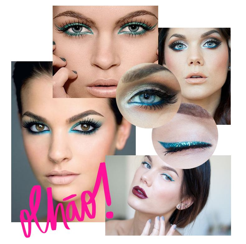 Maquiagem Azul 2
