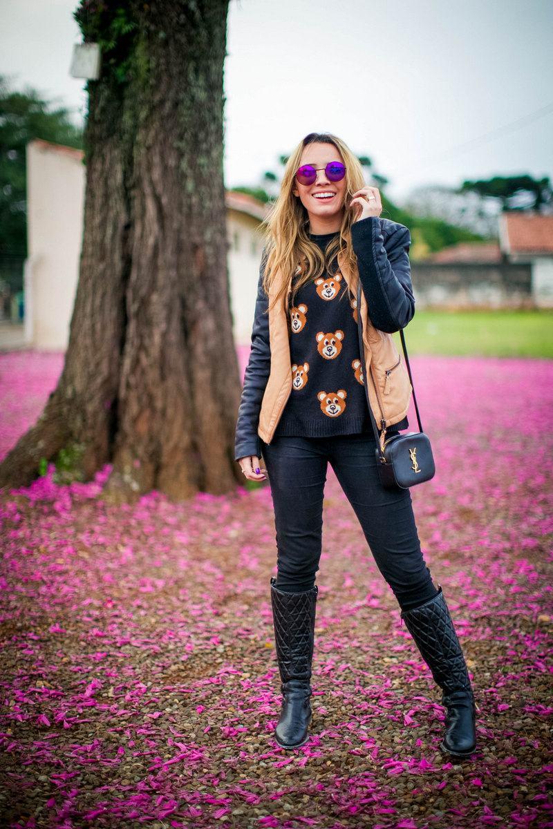 tricot de ursinho