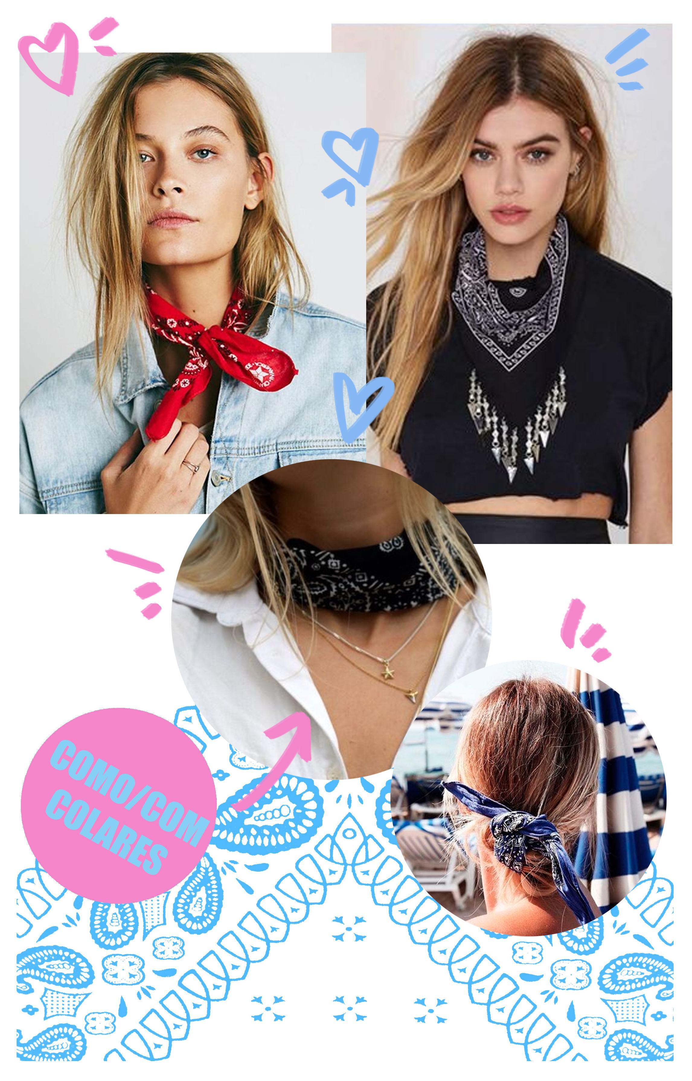 bandanas na moda